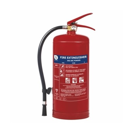 Extintor Incendios 6Kg Polvo Smartwares Fex-15162 6 Kg