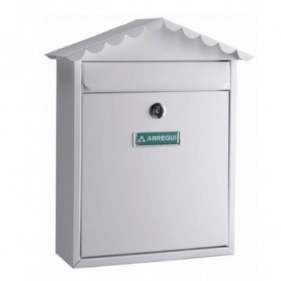 Buzon exterior vertical blanco