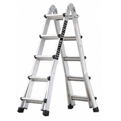 Escalera multiuso aluminio