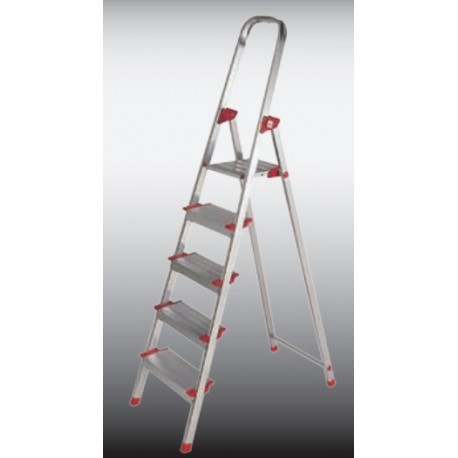 Escalera aluminio 6 peldaños