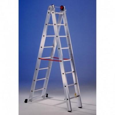 Escalera mixta aluminio 2x12