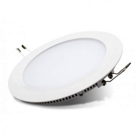 Foco Downlight Led 20W 1500Lm 6000K-Blanco Emp Rdo