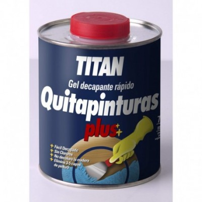 Quitapinturas titan 750 ml.
