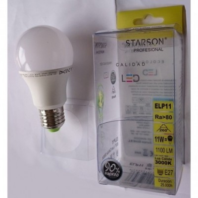 Lampara estandar led e27...
