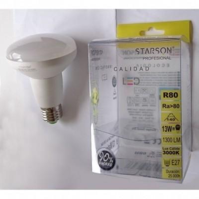 Lampara led refl. r80 12 w.