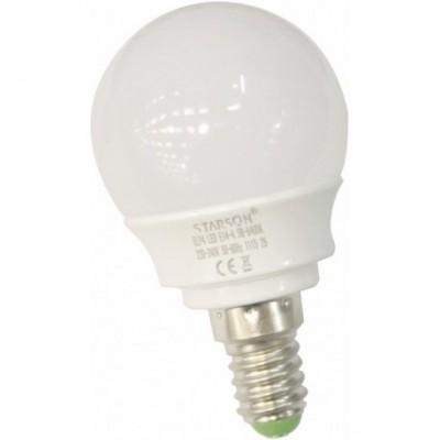 Lampara esferica led e14...