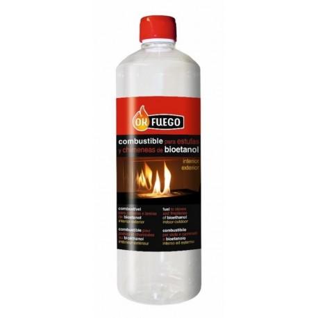 Combustible chimenea liquido 1 lt