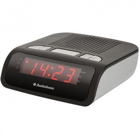 Radio portatil reloj despertador