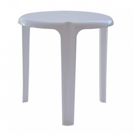 Mesa jardin 50cm blanca