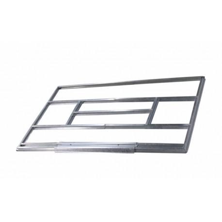 Base metálica para caseta 213x127cm