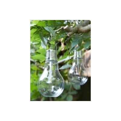 Lámpara jardín solar...