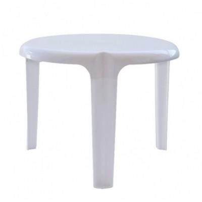 Mesa jardin blanca