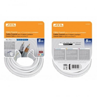 Cable coaxial .