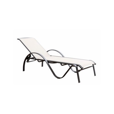 Tumbona jardín reclinable...