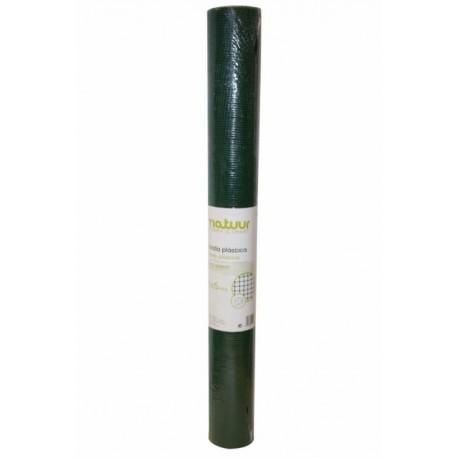 Malla protección verde 4,5x4,5mm 5metros