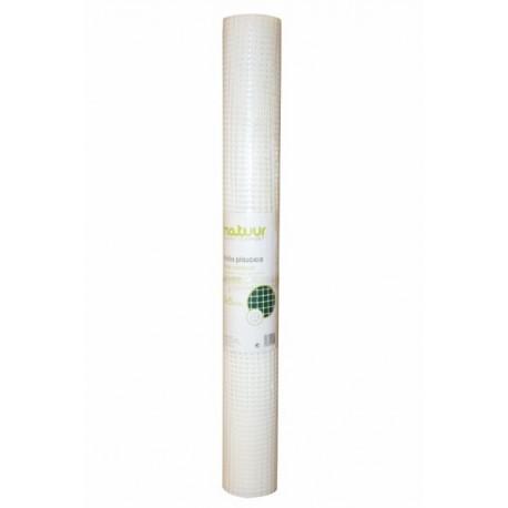 Malla protección blanca 9x9mm 5 metros
