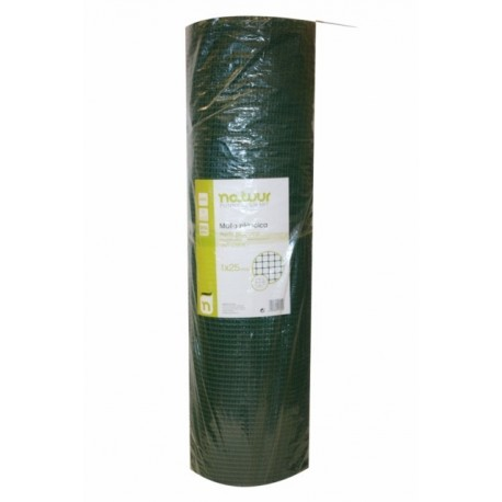 Malla protección verde 9x9mm