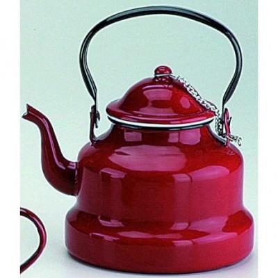 Cafetera pava roja 1 lts.