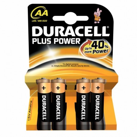 Duracell alcalina plus power aa (lr06)