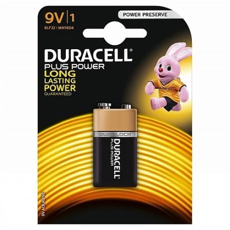Pilas duracell 9v