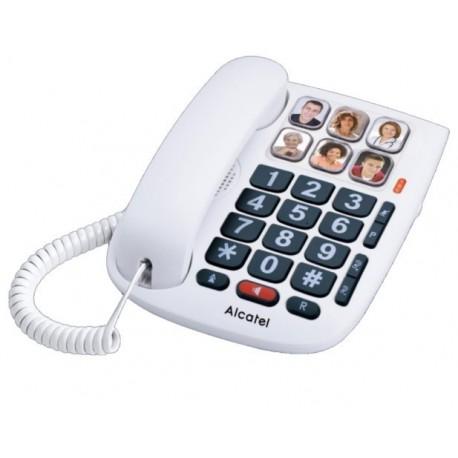 Telefono sobremesa teclas grandes alcatel