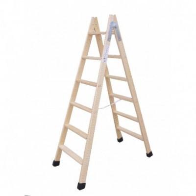 Escalera madera doble 6x6