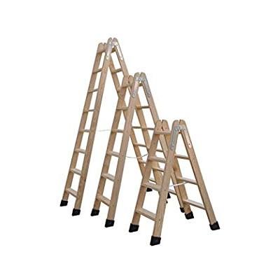 Escalera madera doble 8x8