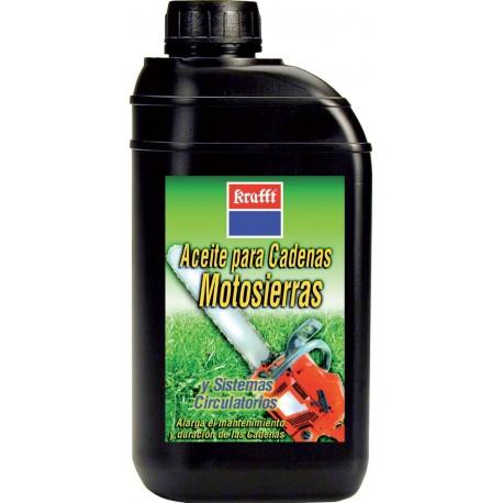 Aceite lubricante motosierra 1l