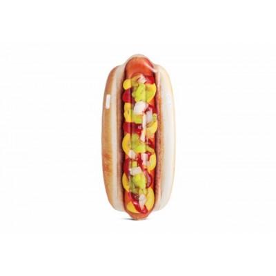 Colchoneta hinchable hotdog...