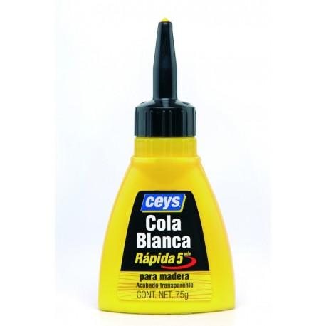 Cola blanca biberon madera 75gr