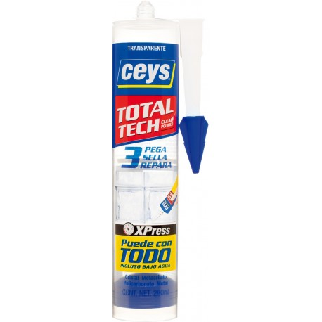 Adhesivo Sellador Polim 290 Ml Tra Total Tech Ceys