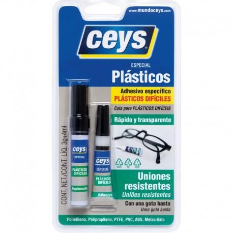 Adhesivo instantaneo plasticos ceys