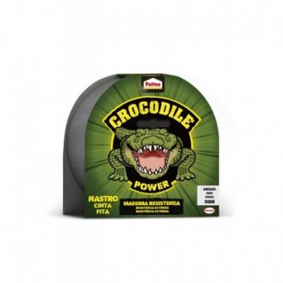 Cinta Americana Crocodile Gris